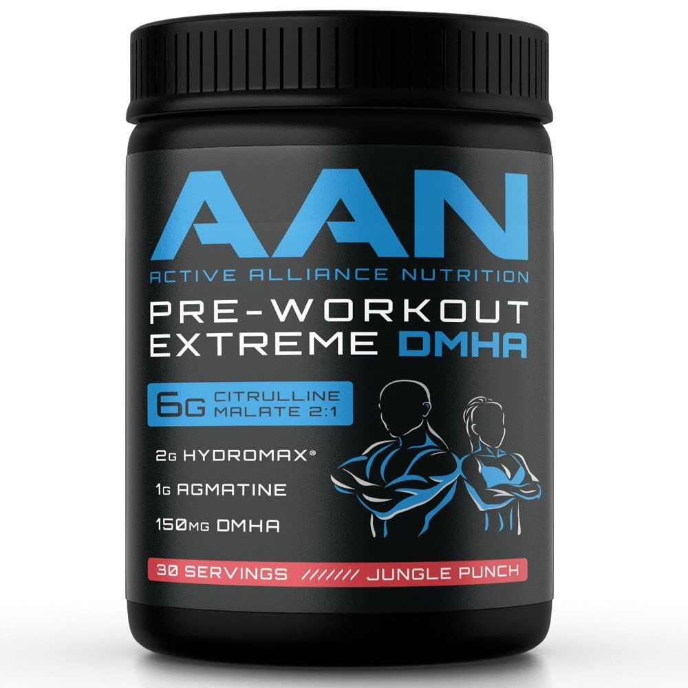 AAN's Pre Workout EXTREME DMHA Preworkout Drink Creatine