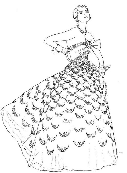 Pin By Connie Futrell On Color Me Fashion Coloring Books Coloring