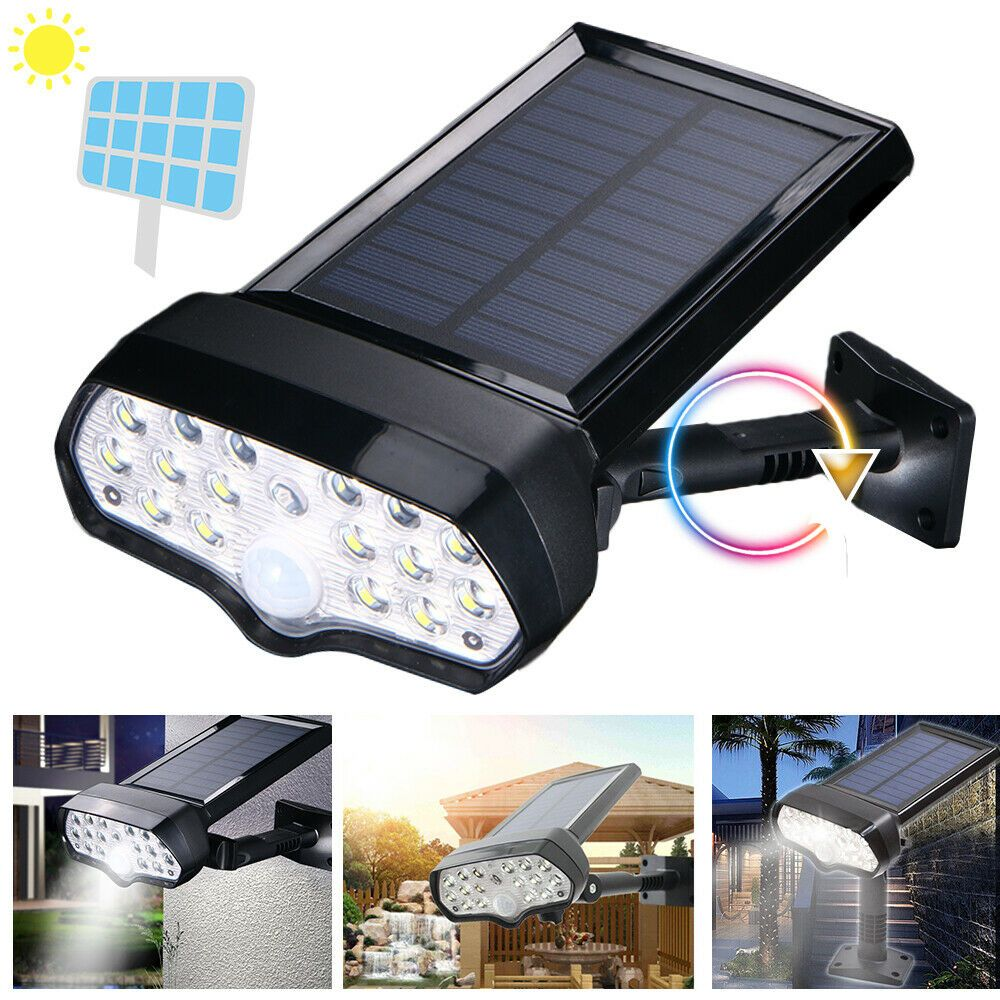 Led Solar Flood Light Motion Sensor Security Spot Wall Street Yard Outdoor Lamp Ideas Of Solar Lamp Solarlamp In 2020 Outdoor Lamp Solar Flood Lights Flood Lights