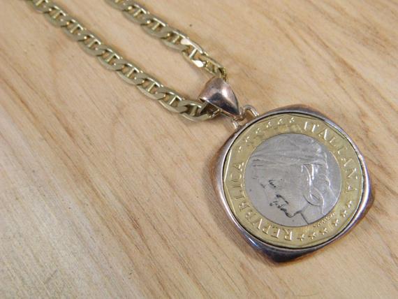 Vintage Coin Necklace Worthington
