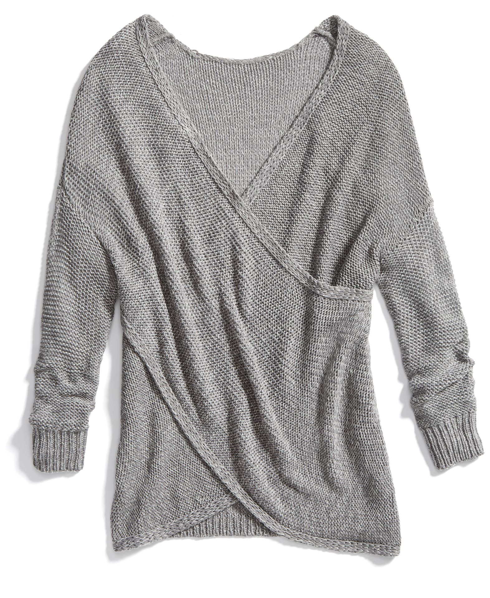 52add01406f51c Stitch Fix Winter Essentials: Try a cross-front sweater to switch up your  sweater game.