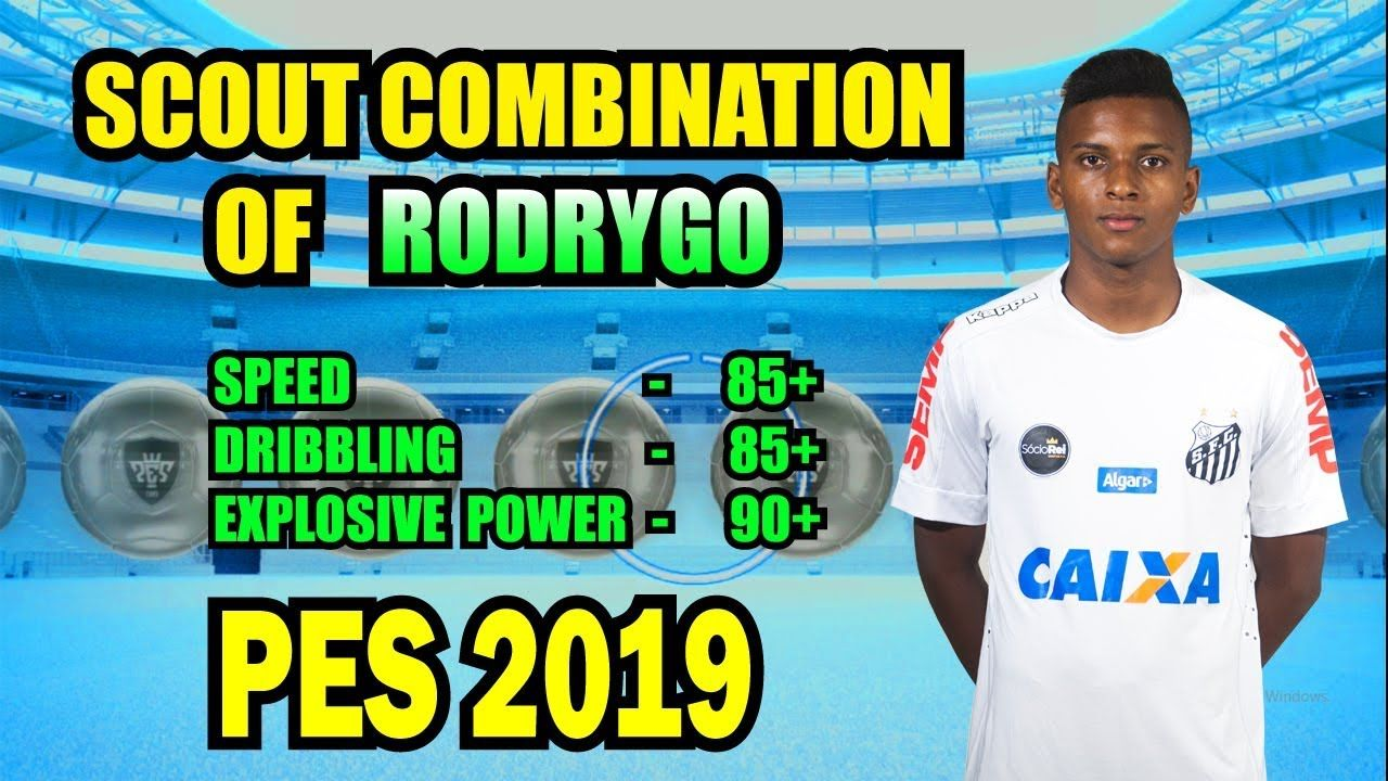 Scout combination of RODRYGO || Two Scout combination PES