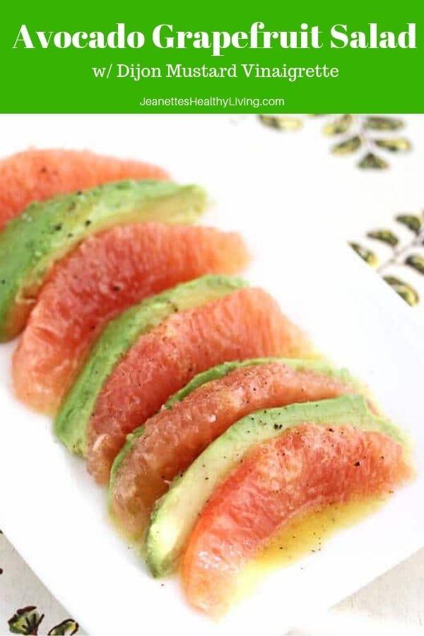 Avocado Grapefruit Salad #healthyliving