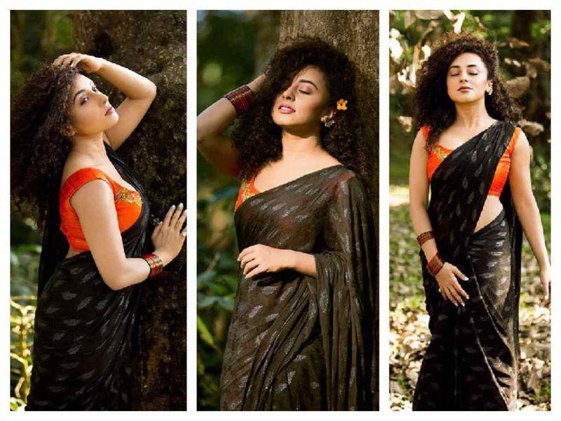 ❝Y IPDeer™❞ | | photoshoots in sarees in 2019 | Saree photoshoot
