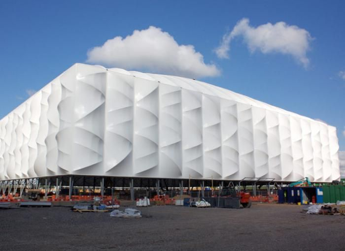 Superieur Architecture · Temporary Demountable Tensile Fabric Architecture