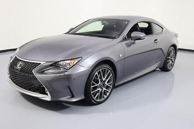 2015 Lexus RC Base Coupe 2 Door 2015 LEXUS RC350 COUPE AWD F SPORT