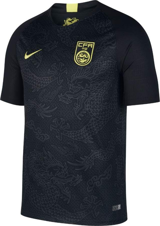 b6f8a01c440 Nike 2018 China Stadium Away Men s Soccer Jersey Size Small (Black ...