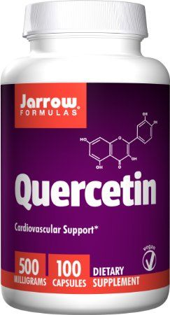Jarrow Formulas Quercetin 500mg, 100 Capsules for allergies