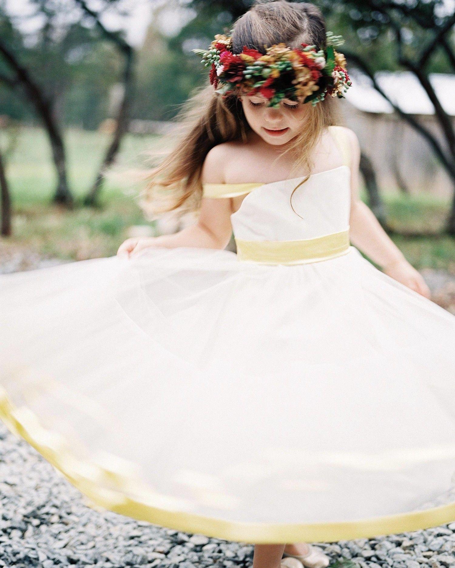The Best Dressed Flower Girls From Real Weddings Pinterest