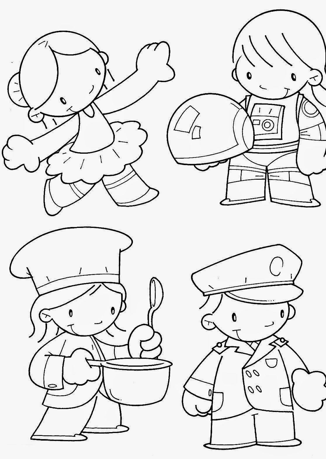 1º De Maio Dia Do Trabalho 100 Desenhos Para Colorir Texto E