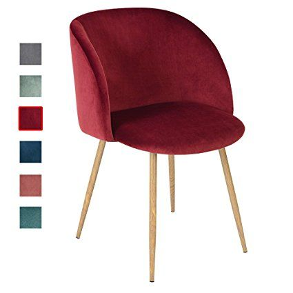 1er Set Vintager Retro Stuhl Sessel Polstersessel Samt Lounge Sessel  Clubsessel Fernsehsessel (Grün):