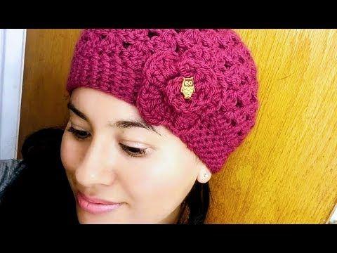 Como Hacer Gorro Facil en Crochet(ganchillo) Paso a Paso Para Niña Y Mujer  - YouTube 74d12c454b4