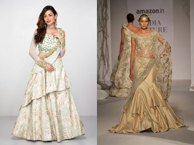 Long frock western wear with indian embroidery will be amazing-tnilive telugu news international latest fashion telugu news - పొడుగు గౌను అద్భుతంగా ఉంటుంది
