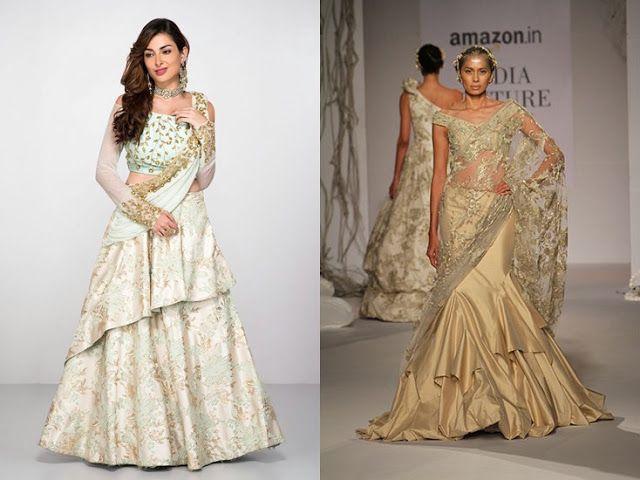 Long frock western wear with indian embroidery will be amazing-tnilive telugu news international latest fashion telugu news - పొడుగు గౌను అద్భుతంగా ఉంటుంది