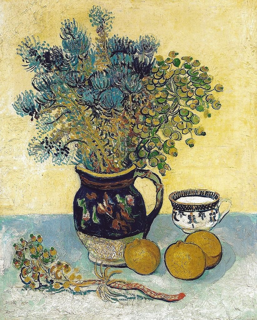 ": "" Vincent van Gogh - Still Life, 1888 at the Barnes Foundation Philadelphia PA (by mbell1975) """