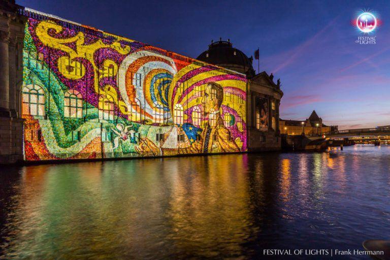 Bodemuseum Festival Of Lights Festival Lichter Bode Museum Museum Insel