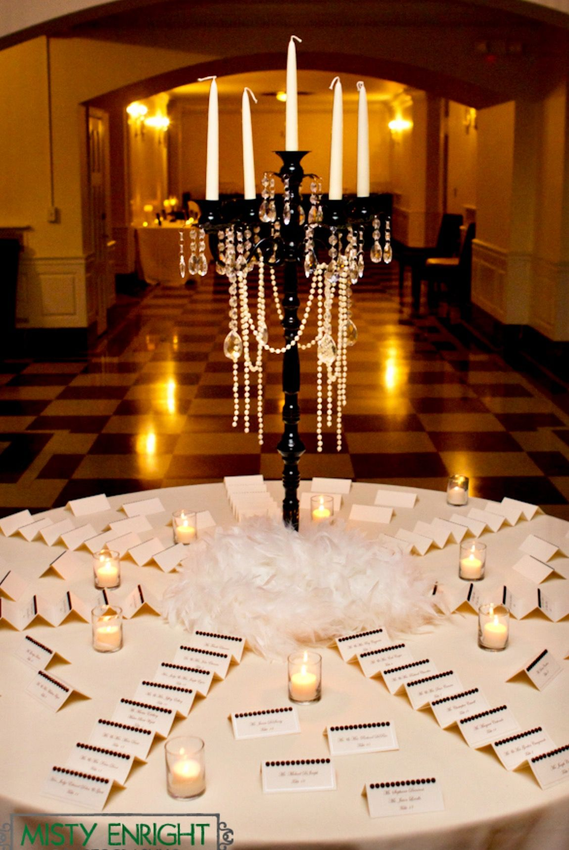 Escort Cards Place Cards Tables Pinterest Wedding Gatsby