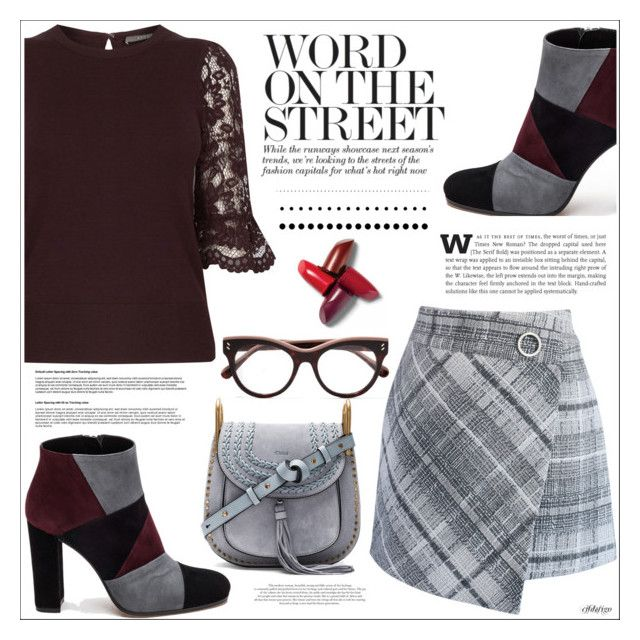 """Word On The Street"" by cjfdesign on Polyvore featuring Roberto Festa, Chloé, Chicwish, STELLA McCARTNEY, StreetStyle and WorkWear"