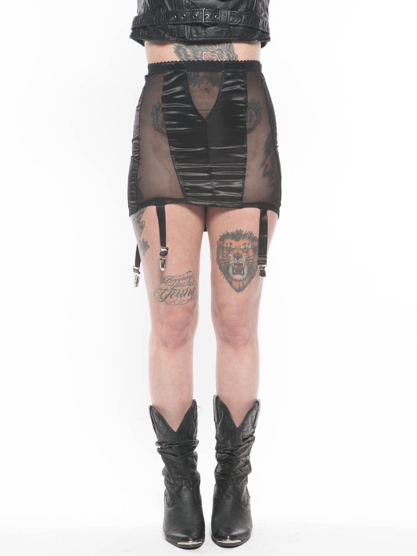 Boudoir Garter Skirt from Grit N Glory