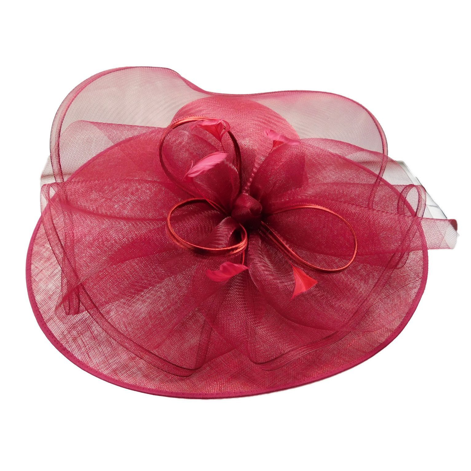 """Amazing hat! Asymmetrical flat brim. On right side brim is 9"""" wide, on front and…"""