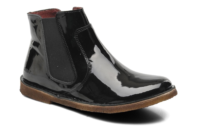 Kickers Creboots (Noir) - Bottines et boots chez Sarenza (199243)