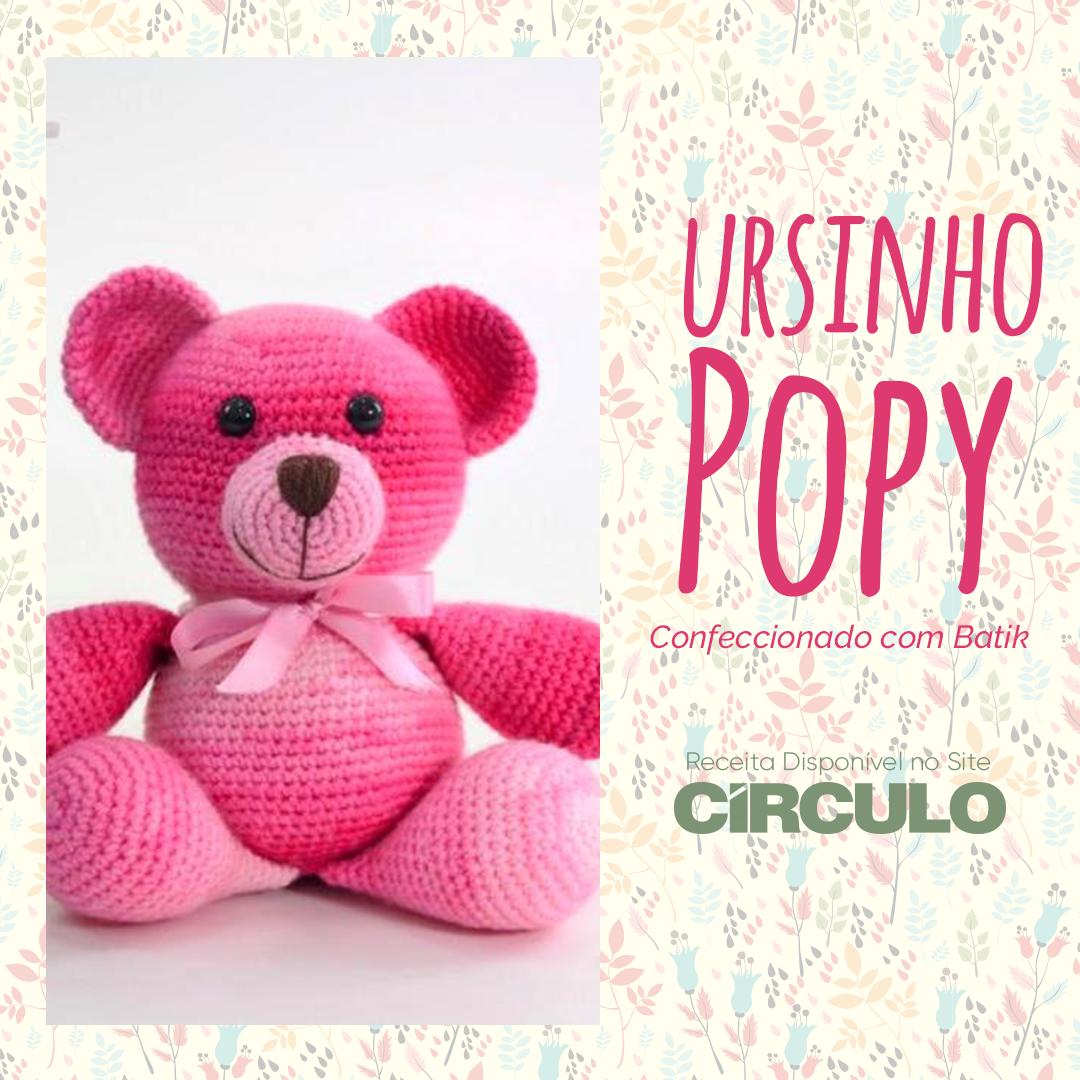 Urso círculo amigurumi no Elo7 | AmiguRita & Cia (11CF0AD) | 1080x1080
