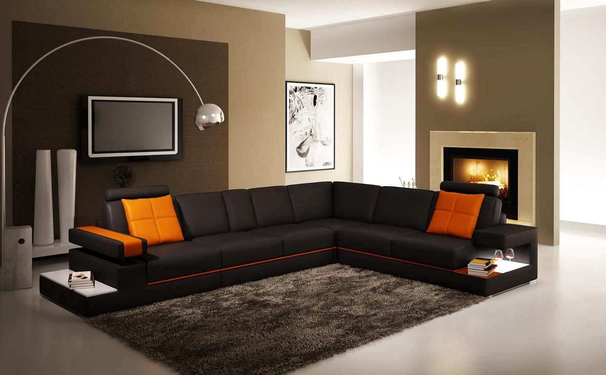 Ledersofa Couch Wohnlandschaft Ecksofa Eck Garnitur Design Modern Sofa 5041 Sofa Bett Couch Wohnlandschaft Ecksofa