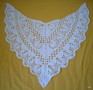 Costura Knüten Und Preien Häkeln Und Stricken Das Tuch Calypso