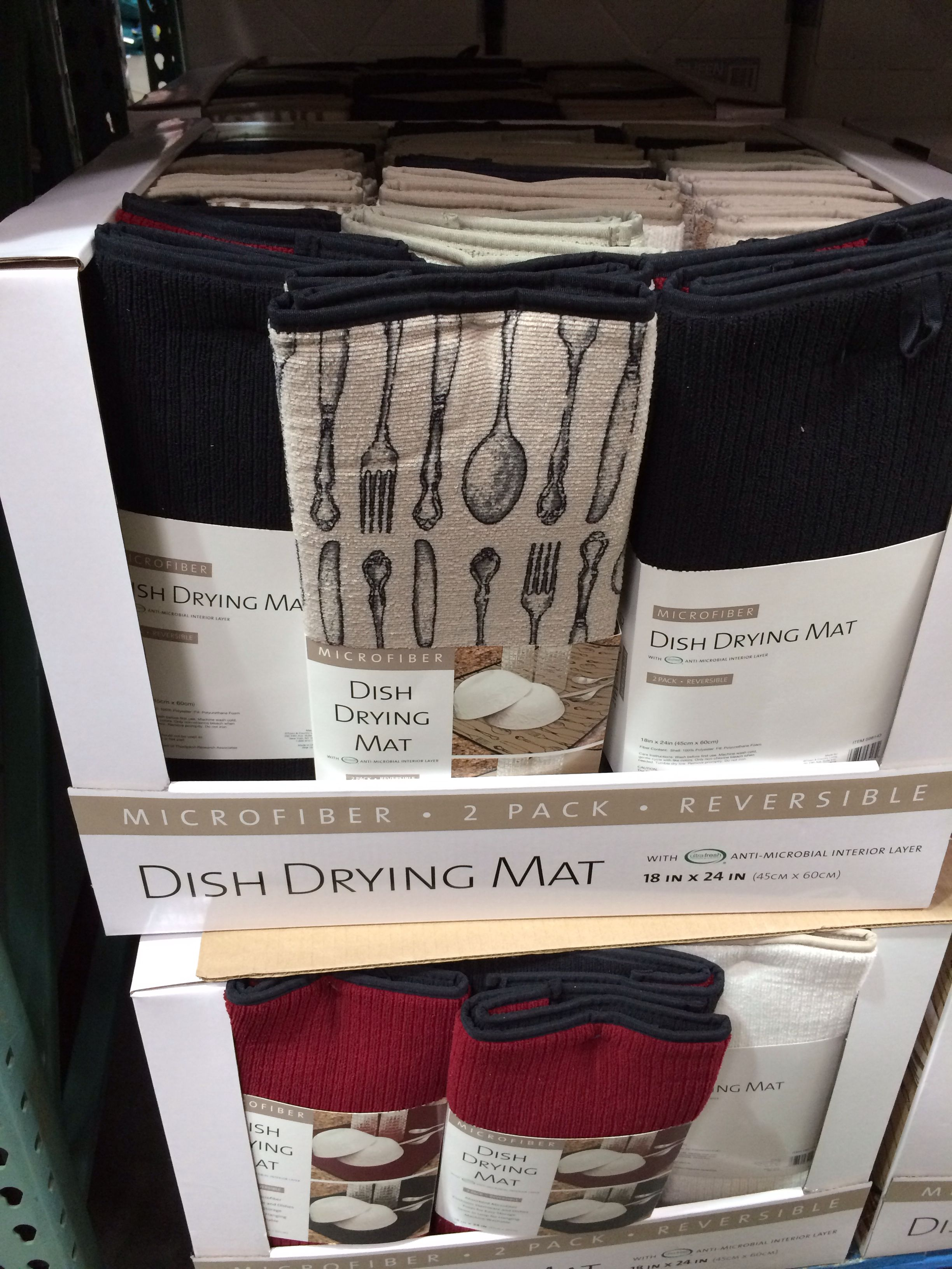 Rubber mats costco - Tamy Dish Drying Mats Costco