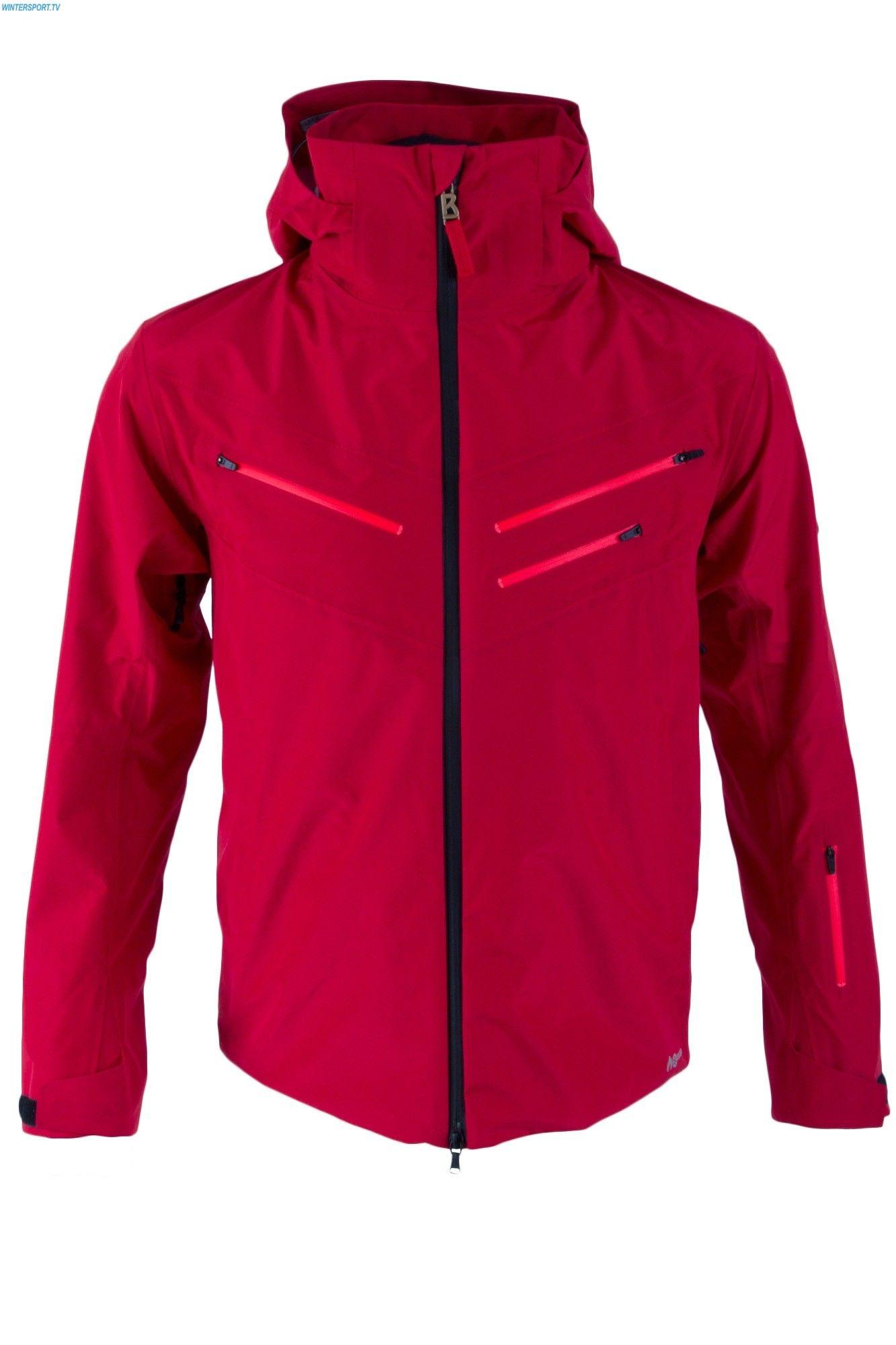 Bogner Fire + Ice Men Remo Jacket - Fiery Red  eca5a3fba
