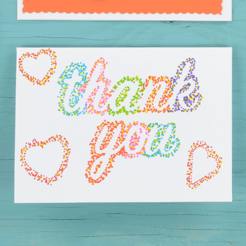 Thank You Notes Easy Crafts For Kids