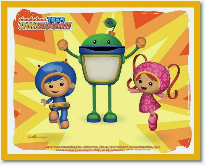 "2/""-3/"" Team umizoomi milli girl heat transfer iron on character"