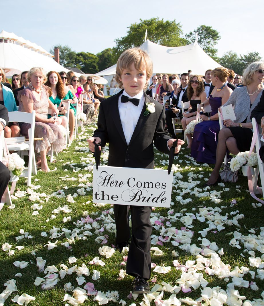 The Adorable New Way To Involve Kids In The Wedding
