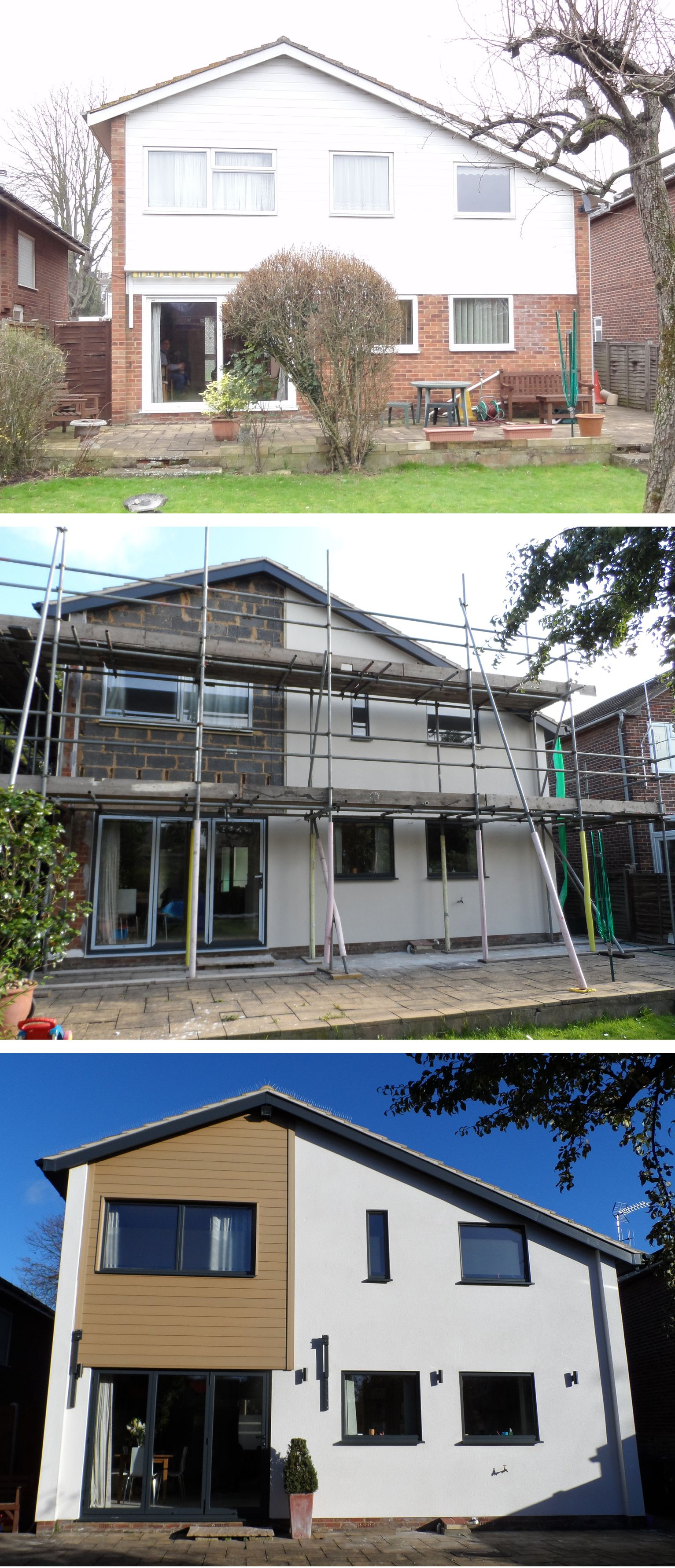 Back Of House Before During And After For Now Expectperfection Co Uk
