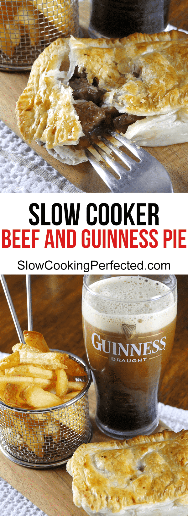 Slow Cooker Beef and Guinness Pie | Recipe | Beef and ...
