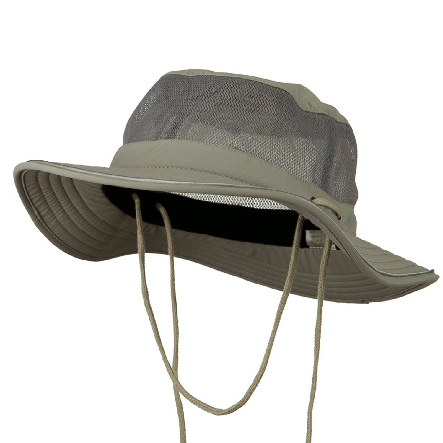 5fc314a86de Big Size Talson UV Mesh Bucket Hat - Grey (For Big Head) - CL11H0H6KA1 -  Hats   Caps