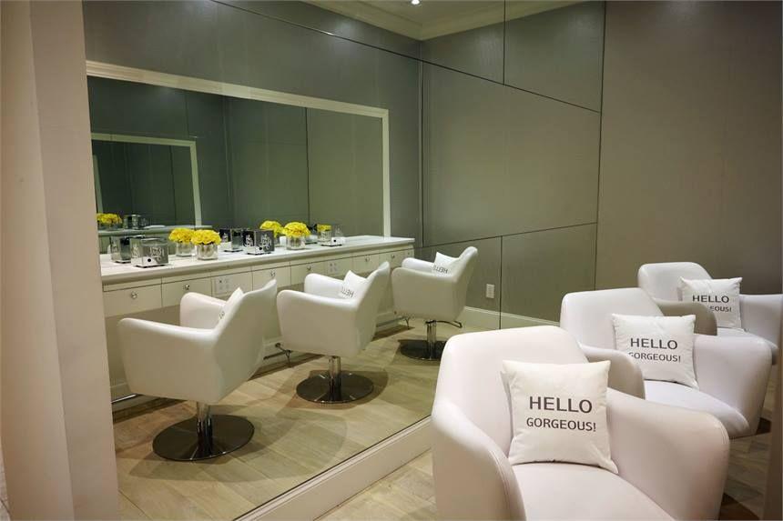 Salon Tour Rpzl Hair Extension Bar In Nyc Salon Spa Tours
