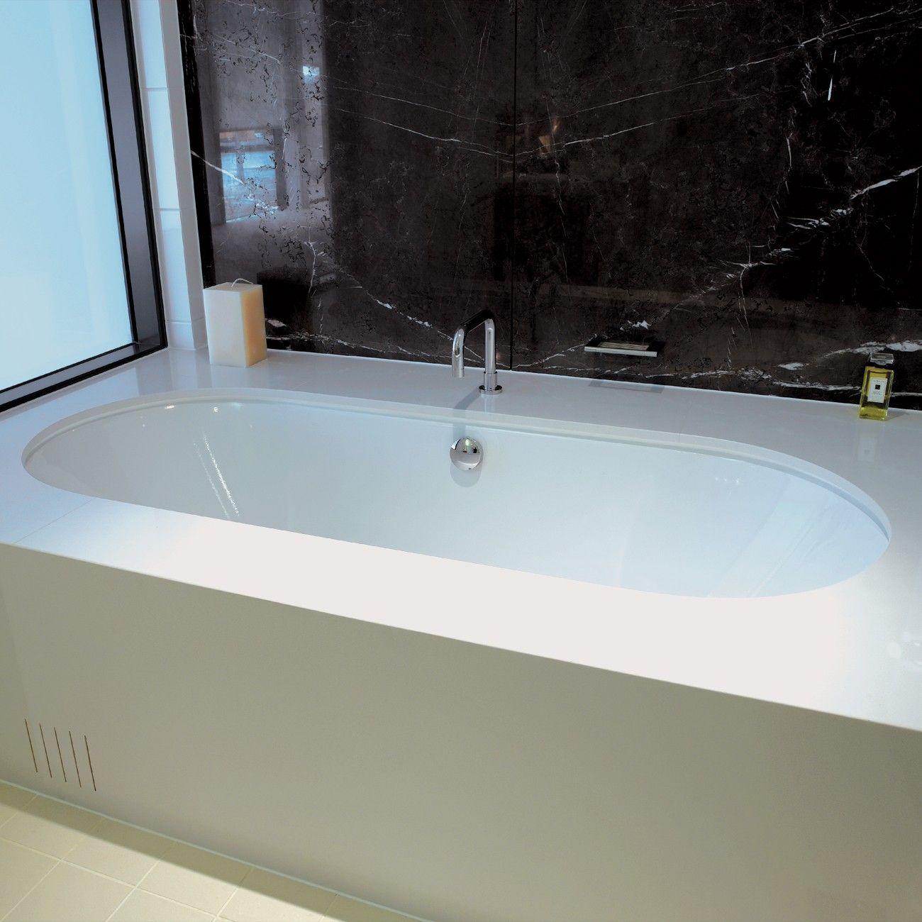 Bliss Duo Oval 1800 Bath Built In Bath Built In Bathroom Storage Built In Bathtub