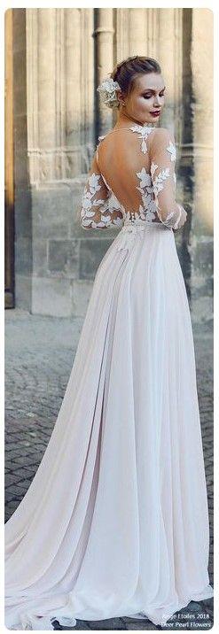 Beatiful long Wedding Dresses