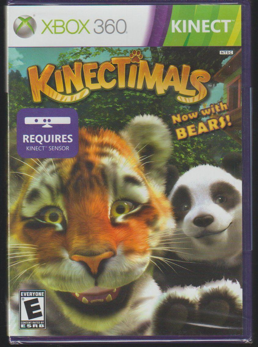 Kinectimals Now With Bears Microsoft X Box 360 Jogos Xbox One Xbox 360 Jogos Xbox 360