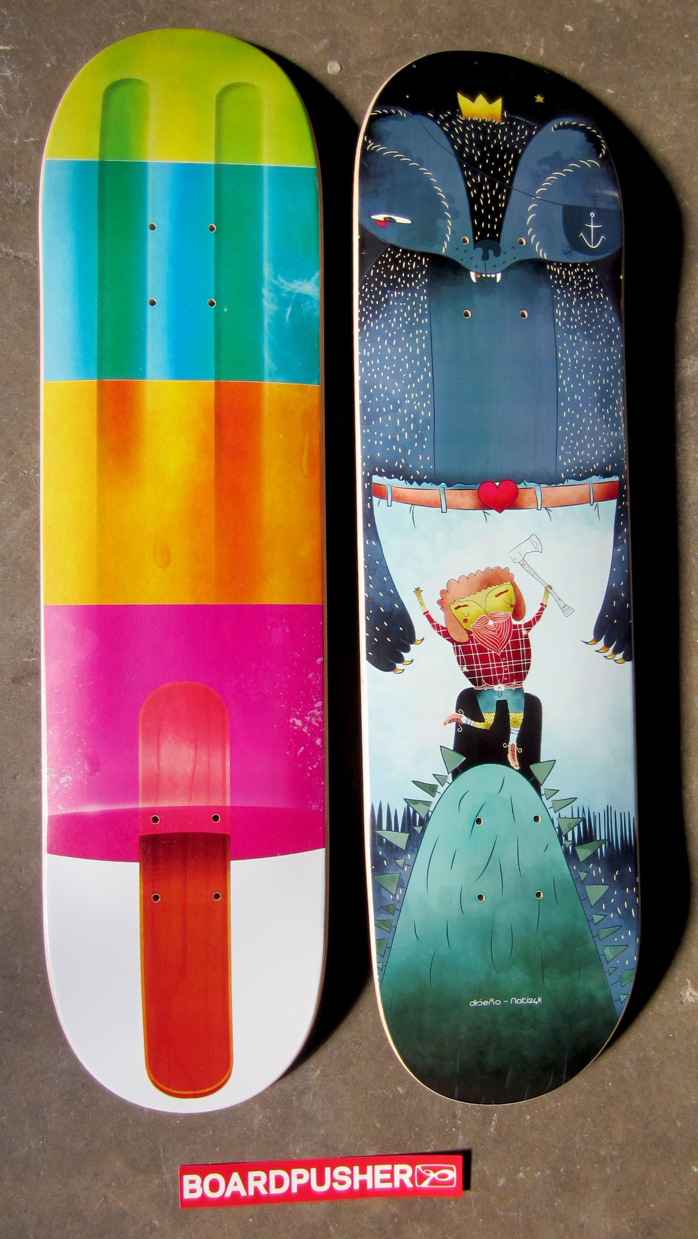 We Have A Couple More Skateboard Graphics Designed By Diego Campos For His Campos Boards Project These Www Boardp Skateboard Skateboard Art Custom Skateboards
