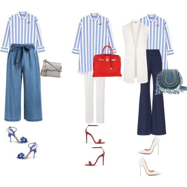61cbc2acebdd 3-in-1   blue by alhanoofalbarjas on Polyvore featuring модР...