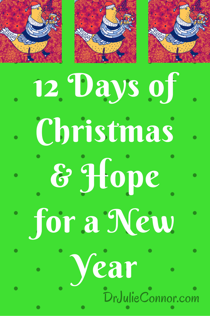 what does the 12 days of christmas mean via drjulieconnor