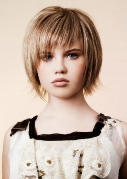 Little Girl Haircuts With Bangs And Layered Tags Haircuts For Fine Straight Hair Women Haircu Girls Short Haircuts Fine Straight Hair Short Hair With Layers