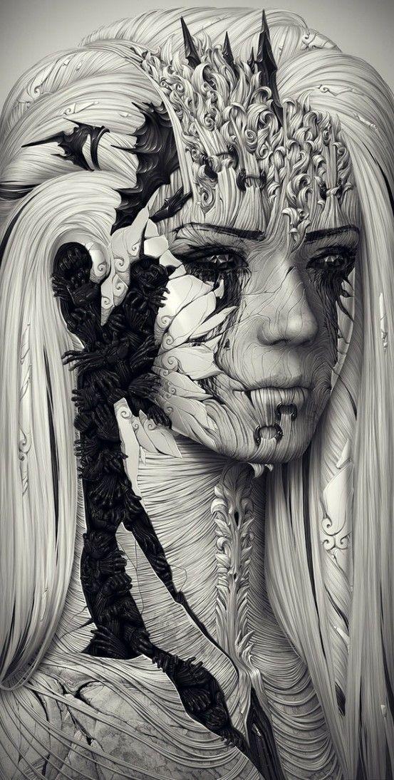 Illustrator Alexander Fedosov   123 Inspiration by jeanette
