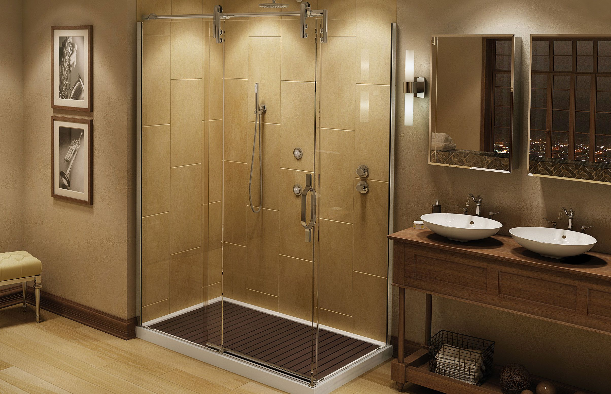 MAAX - Mechanix M2 Alcove Shower Door www.maax.com | Douches en ...