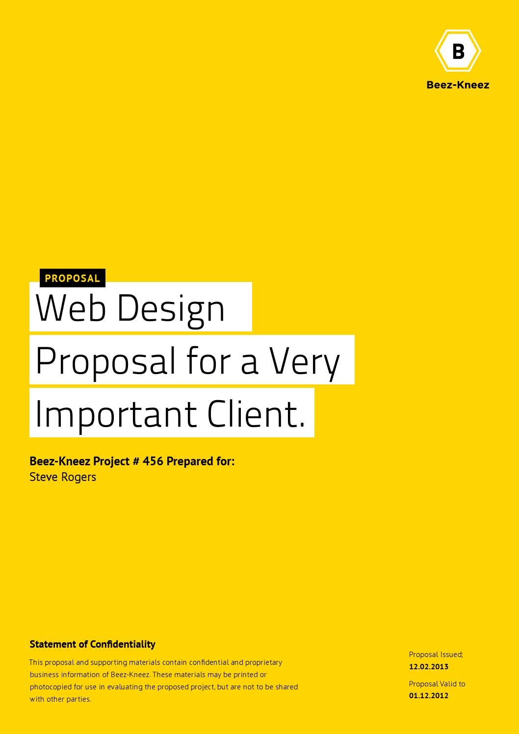 Neue Proposal | RFP | Proposal templates, Proposal, Service design