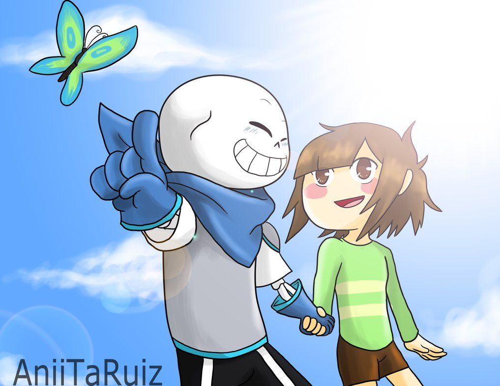 Sans!Swap X Chara!Swap By AniiTaRuiz On DeviantArt