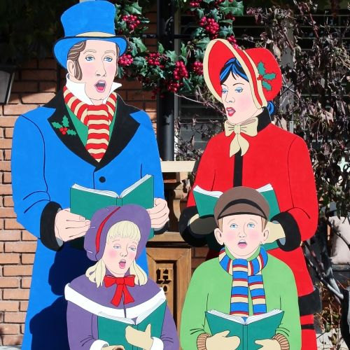 Dickens Era Christmas Carolers Wood Standups Woodworking: A Wood Project That Is Just Under Consideration To Be Put