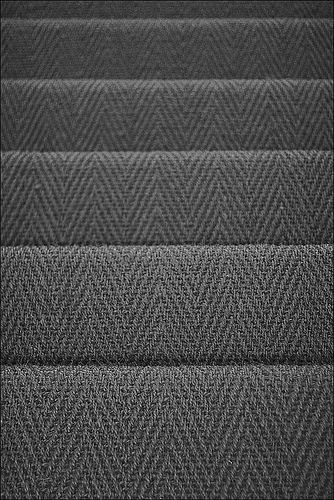 Attractive Stair Carpet, Perfect Color And Texture For A High Traffic Area.